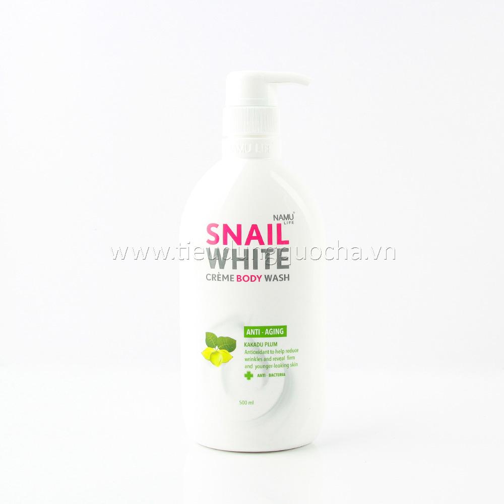 Sữa Tắm Snail White - Anti-Aging 500ml