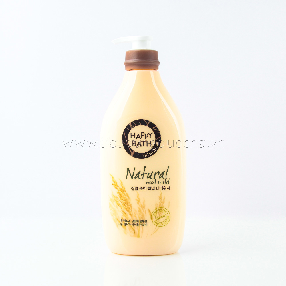 Sữa Tắm Happy Bath - Natural Real Mild 900ml