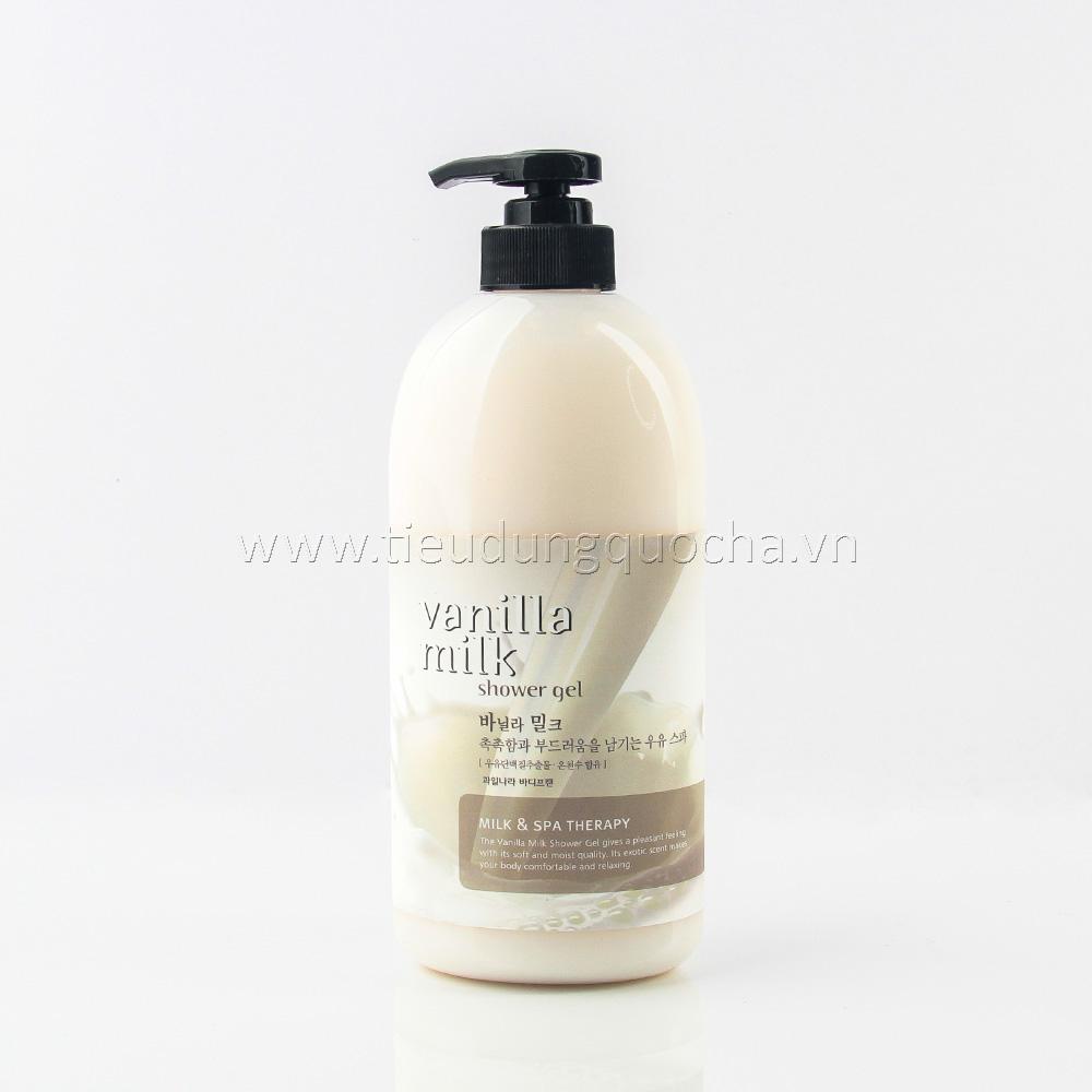 Sữa Tắm Vanilla Milk Hàn Quốc 740ml