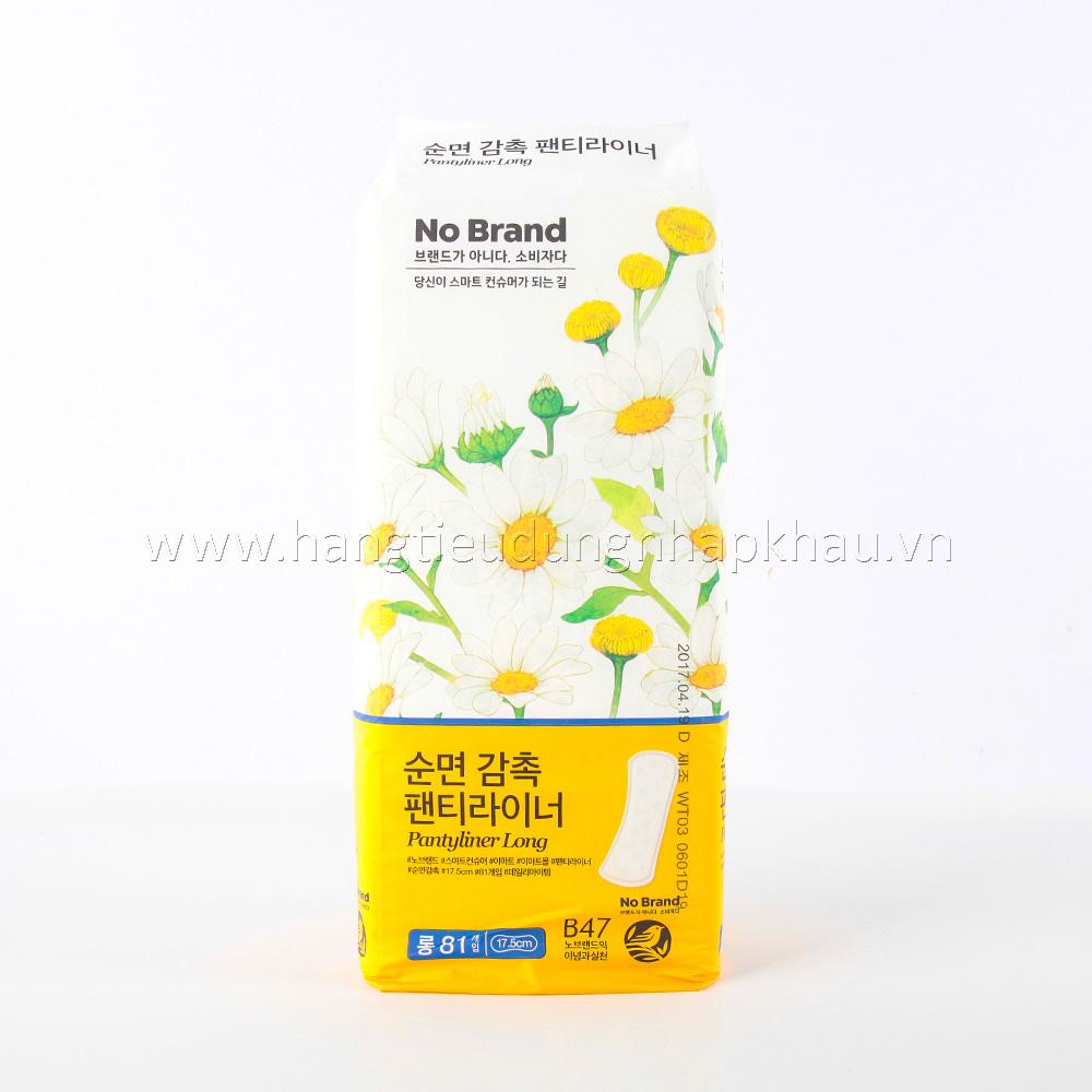 Băng Vệ Sinh Hàng Ngày No Brands 81 Miếng