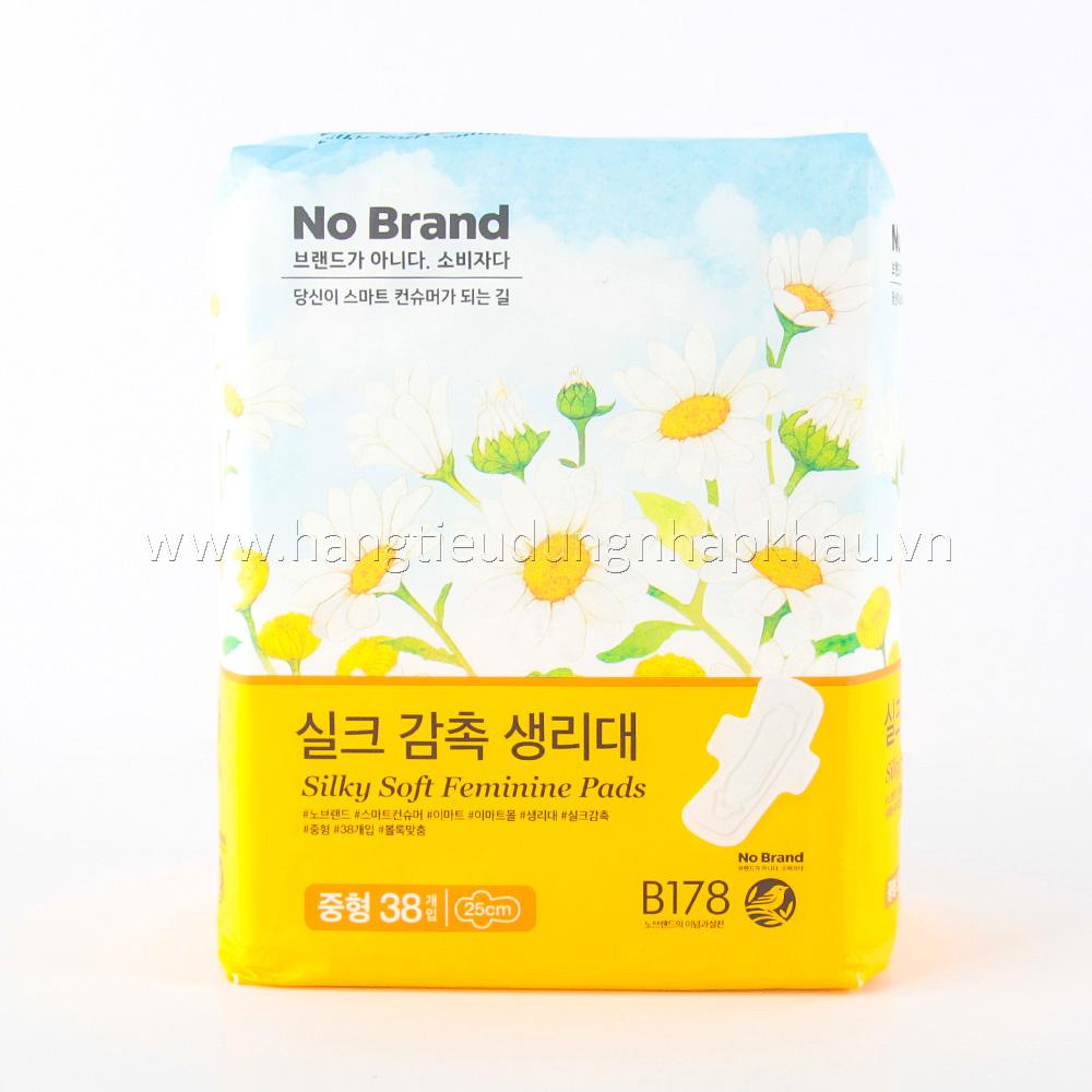 Băng Vệ Sinh No Brands Hàn Quốc 38 Miếng