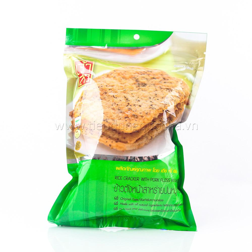 Bánh Gạo Giòn Phủ Chà Bông & Rong Biển 105g