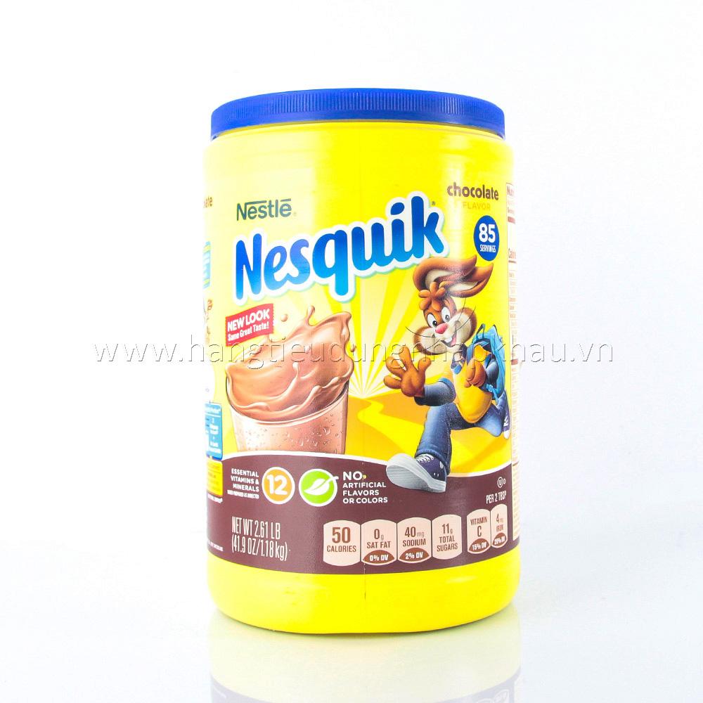 Sữa Bột Hương Socola Nesquik