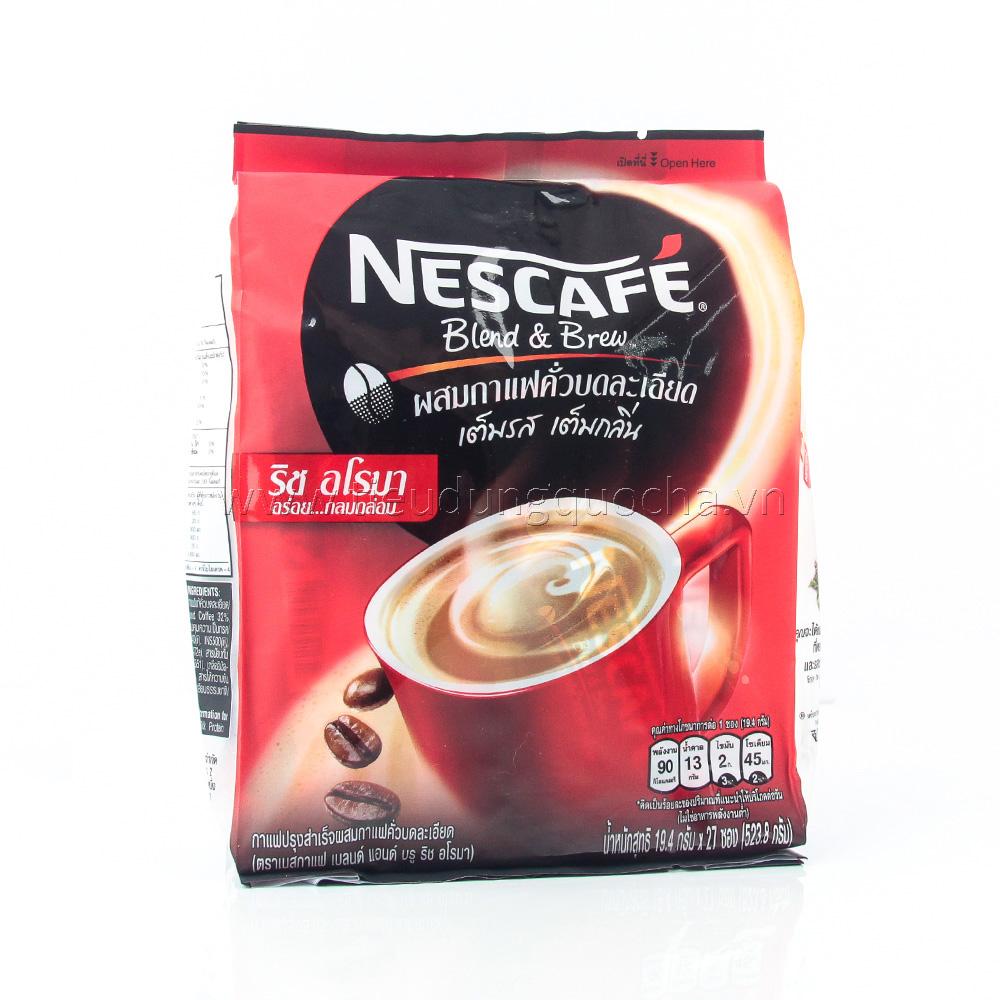 Cafe Sữa Hòa Tan Nescafe 523g