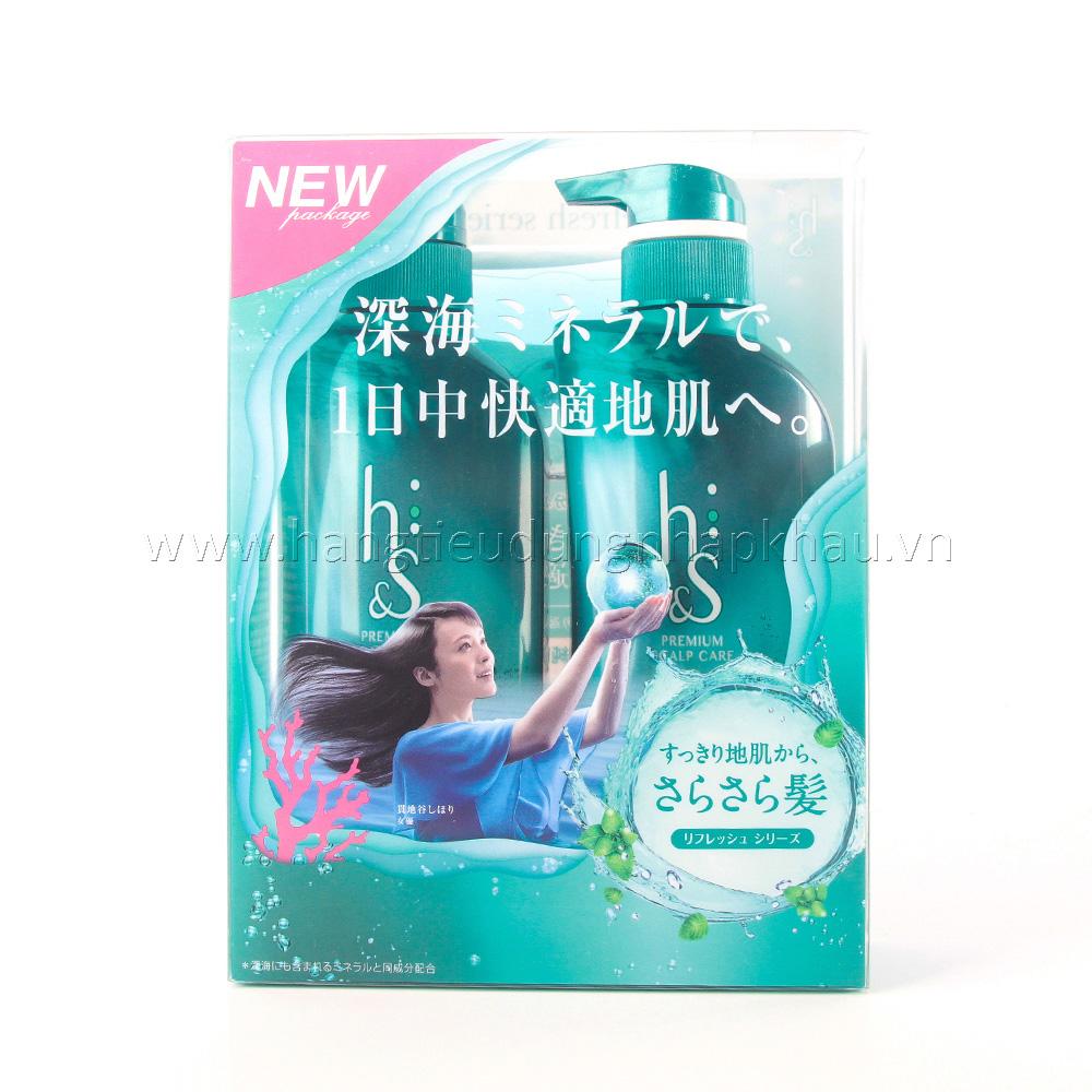 Bộ Gội Xả H&S Nhật Bản
