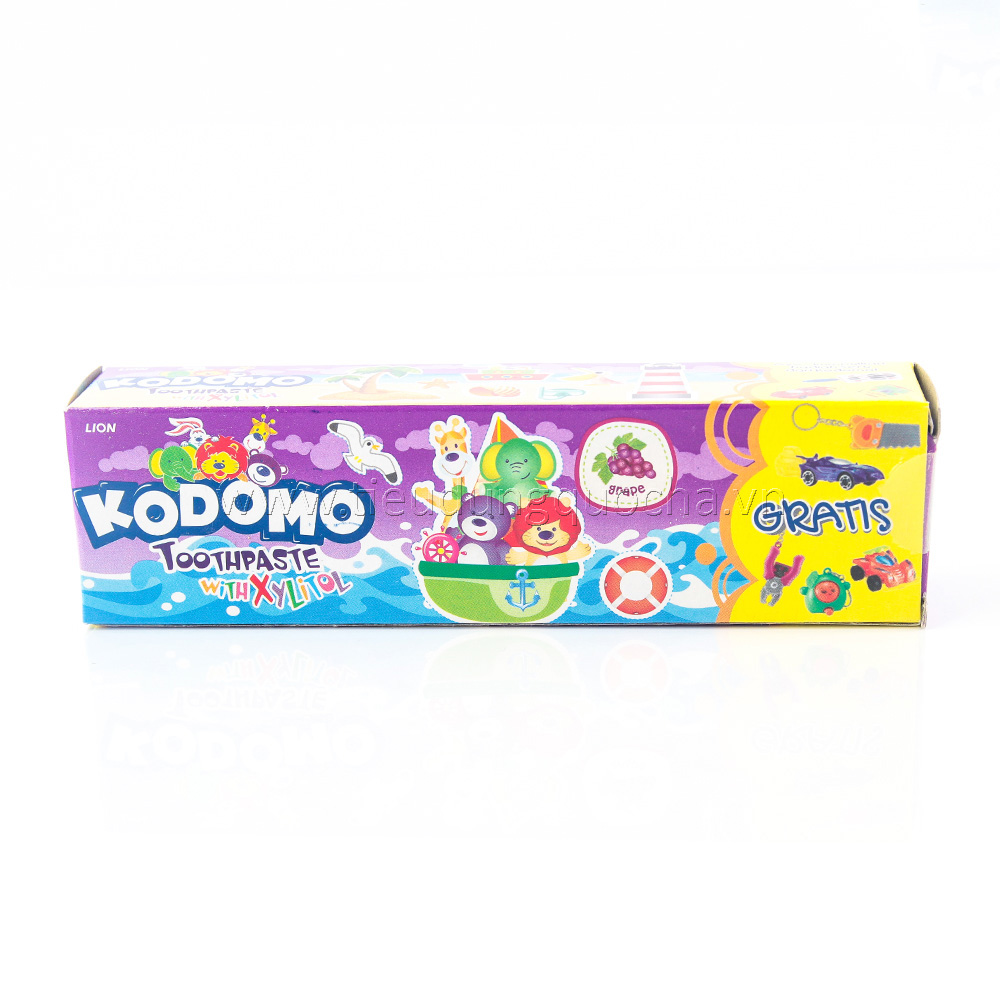Kem Đánh Răng Trẻ Em Kodomo Xylitol