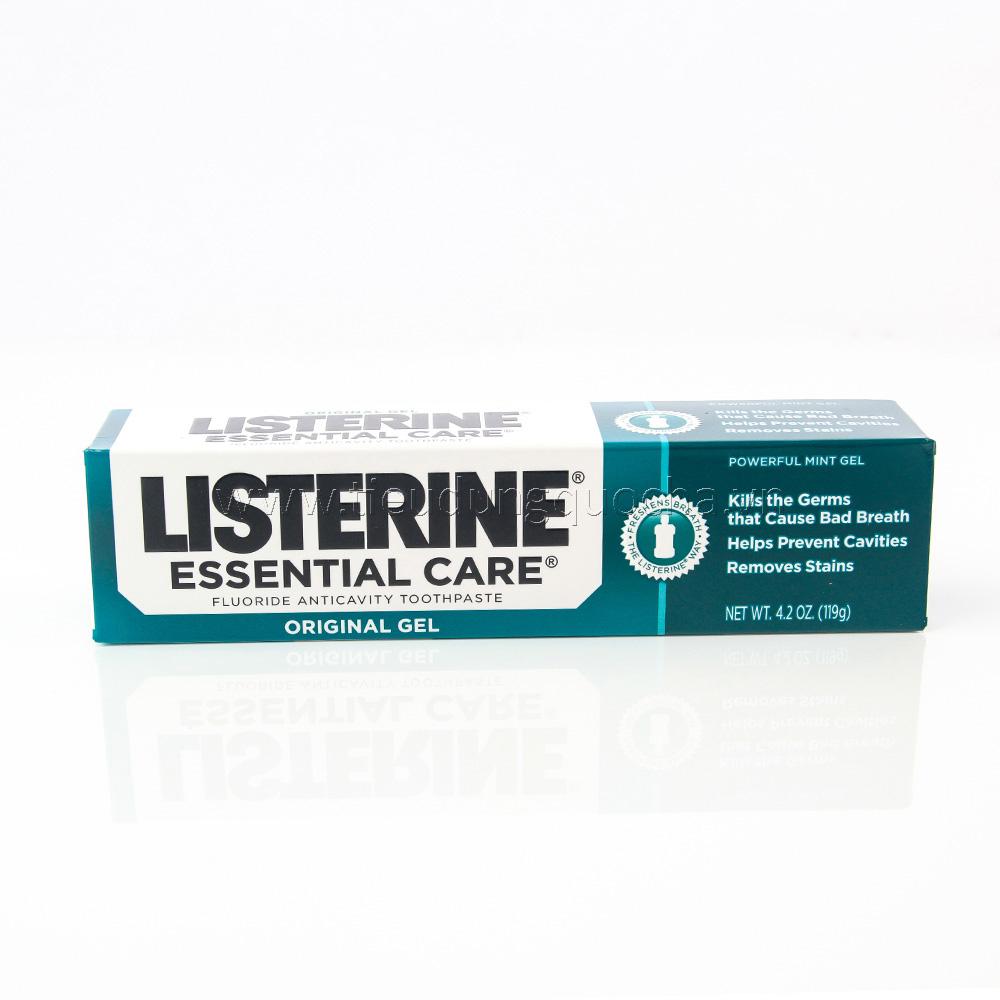 Kem Đánh Răng Listerine Essential Care