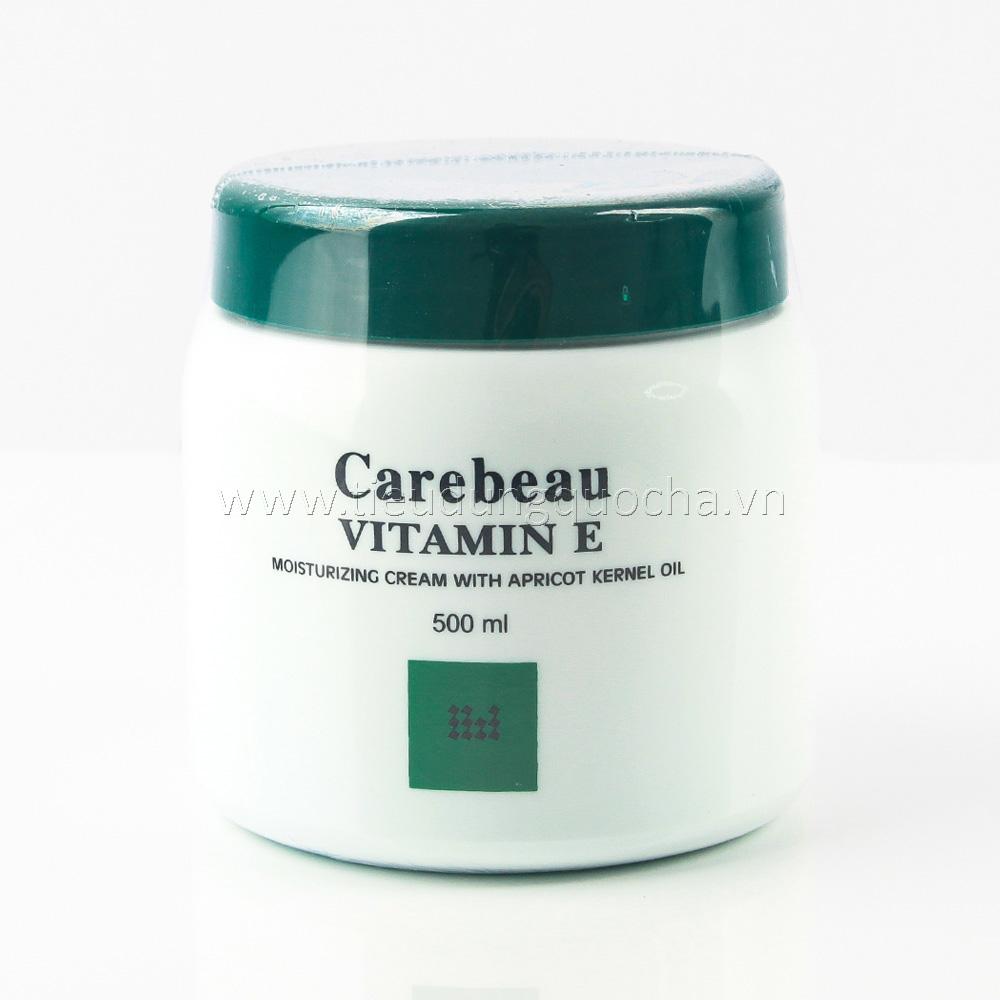 Kem Dưỡng Da Carebeau Vitamin E - Xanh 500g