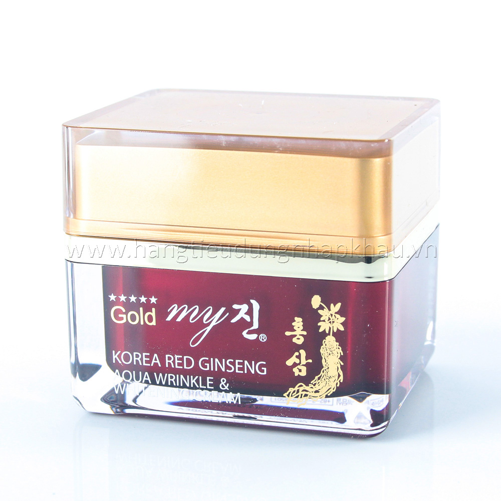Kem Dưỡng Hồng Sâm My Gold Hàn Quốc  50ml