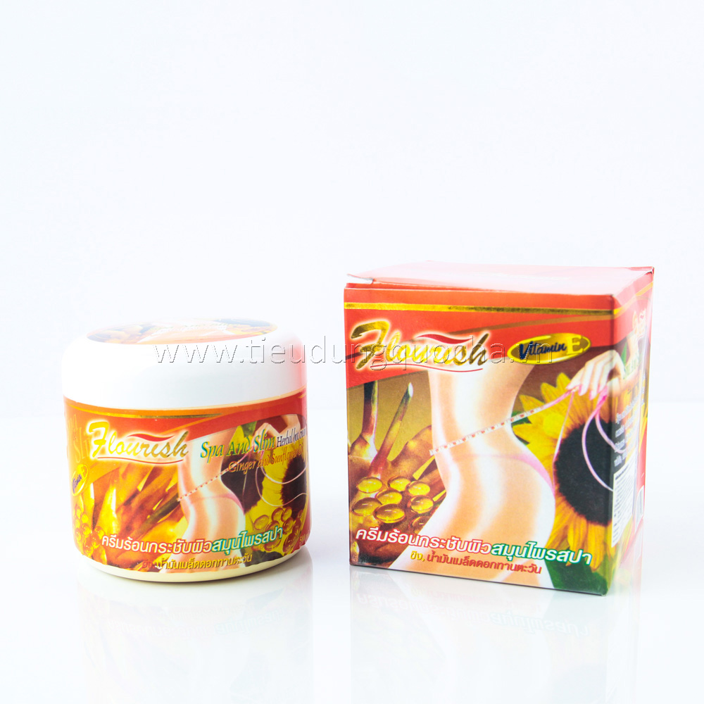 Kem Tan Mỡ Flourish - Ginger & Sunflower