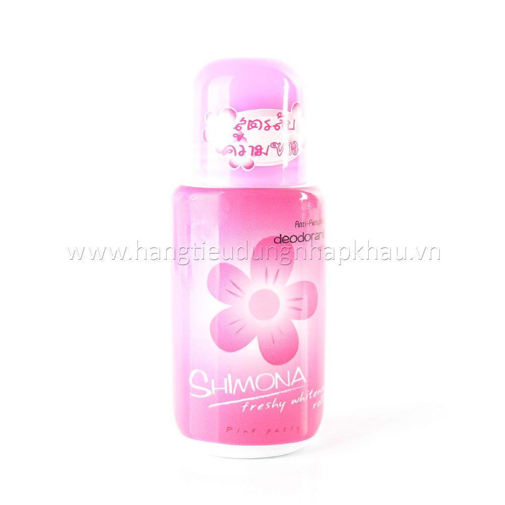 Lăn Khử Mùi Nhật Bản Shimona - Pink Passy