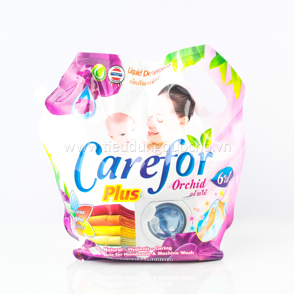 Nước Giặt Carefor Plus - Orchid 2000ml