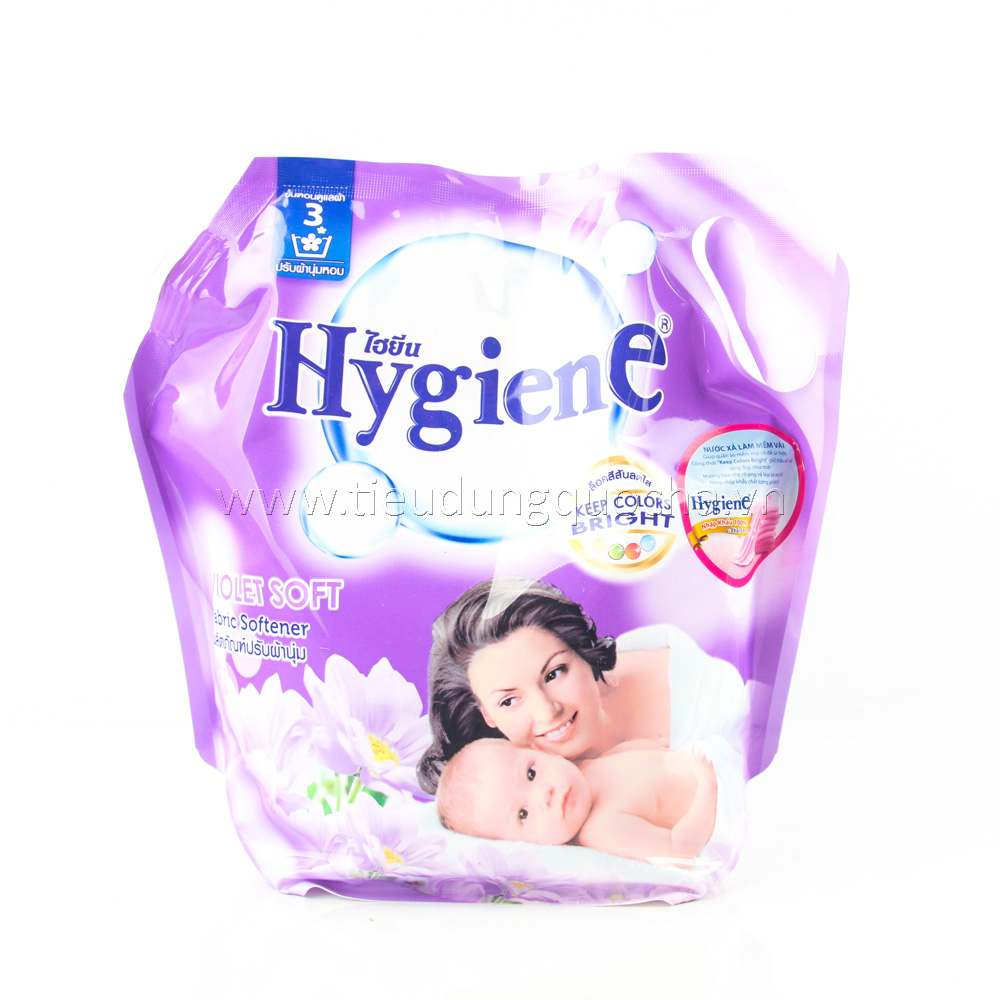 Nước Xả Làm Mềm Vải Hygiene - Violet Soft 1800ml