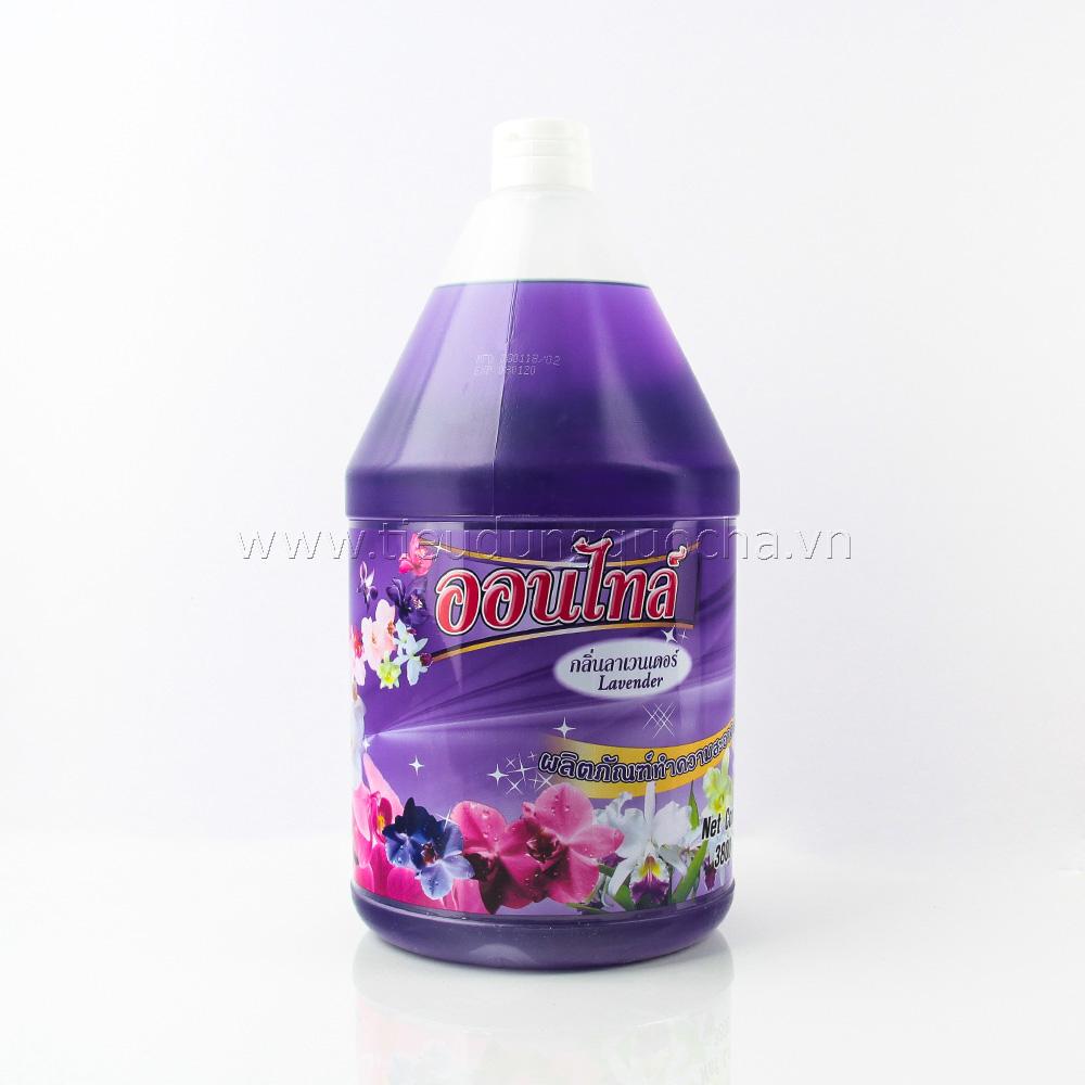 Nước Lau Nhà Ontile Hương Lavender 3800ml
