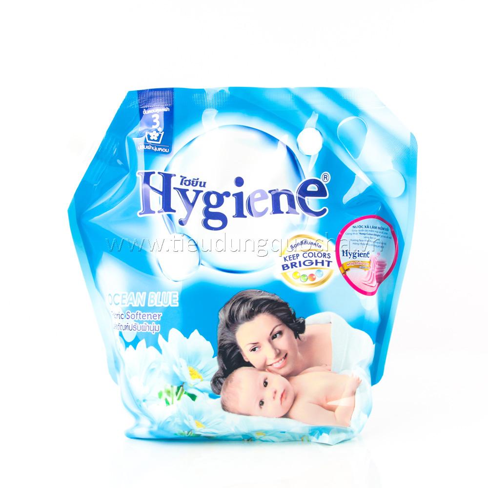Nước Xả Làm Mềm Vải Hygiene - Ocean Blue 1800ml