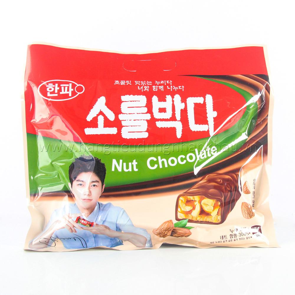 Kẹo Socola Hạnh Nhân Hàn Quốc 300g