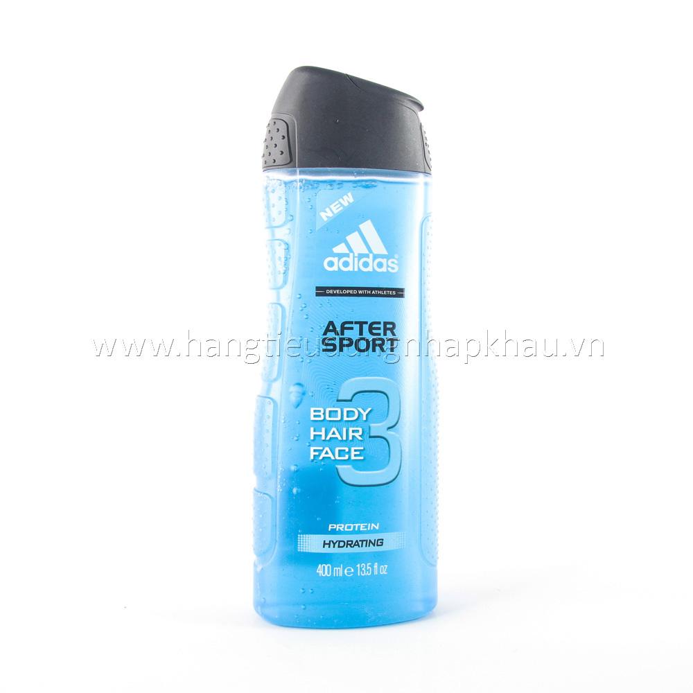 Tắm Gội Adidas Dành Cho Nam - After Sport 400ml