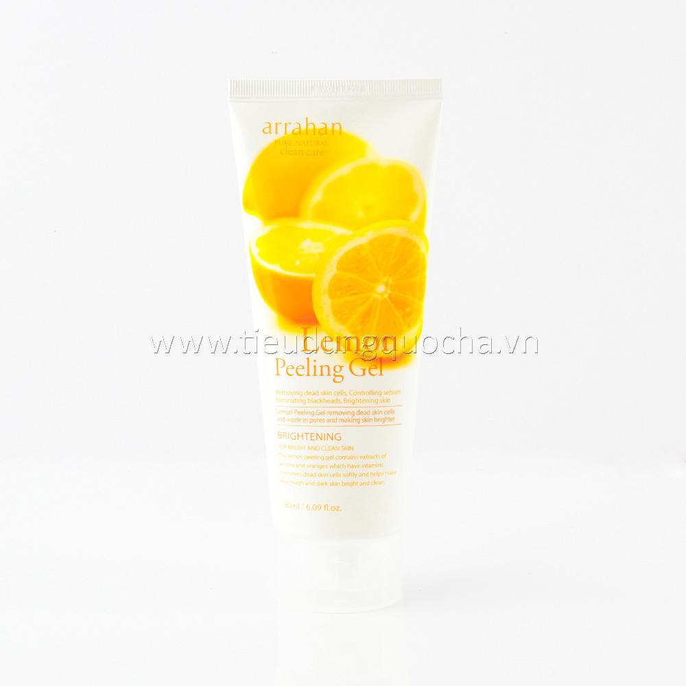 Gel Tẩy Tế Bào Chết Arrahan Lemon