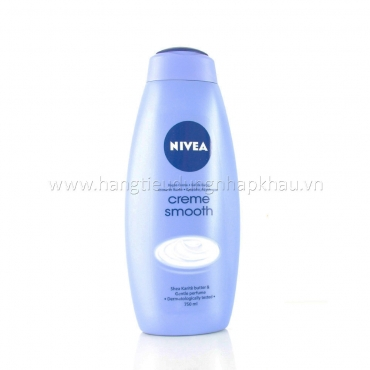 Sữa Tắm Nivea Creme Smooth 750ml
