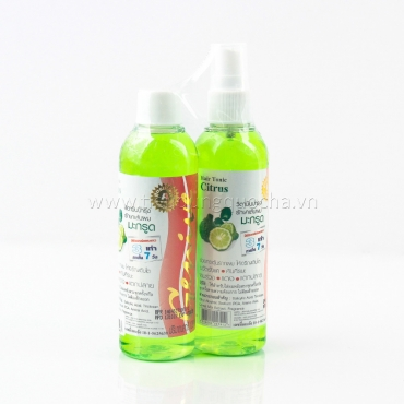 Xịt Dưỡng Kích Thích Mọc Tóc Genive Hair Tonic Citrus
