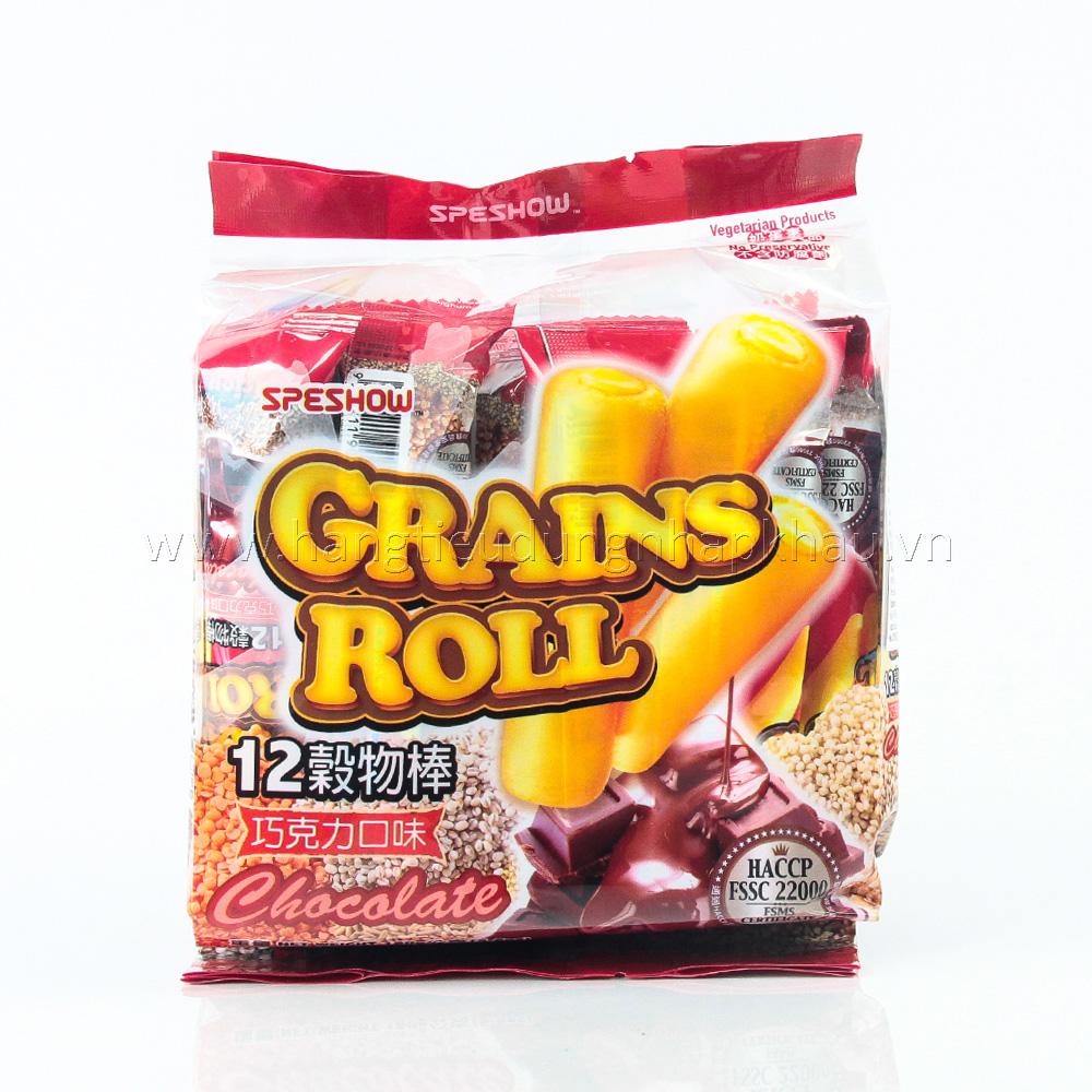 Bánh Ngũ Cốc Grands Roll Vị Socola