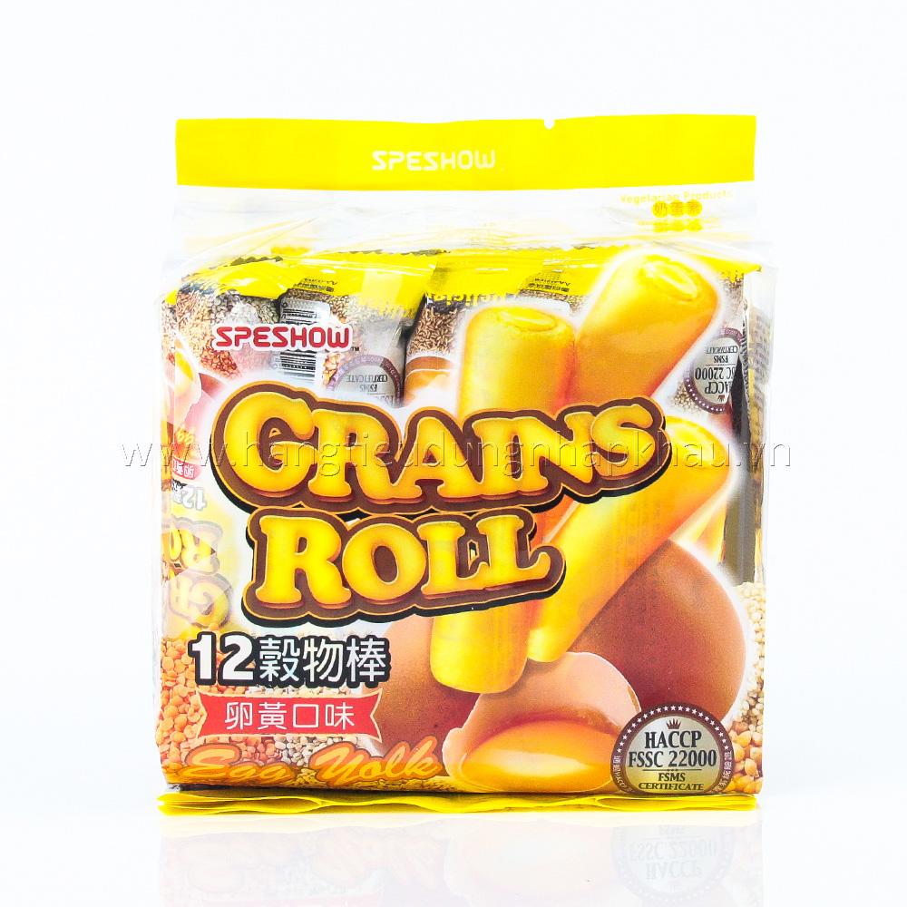 Bánh Ngũ Cốc Grands Roll Vị Trứng