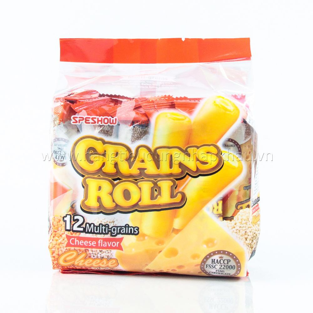 Bánh Ngũ Cốc Grands Roll Vị Phô Mai