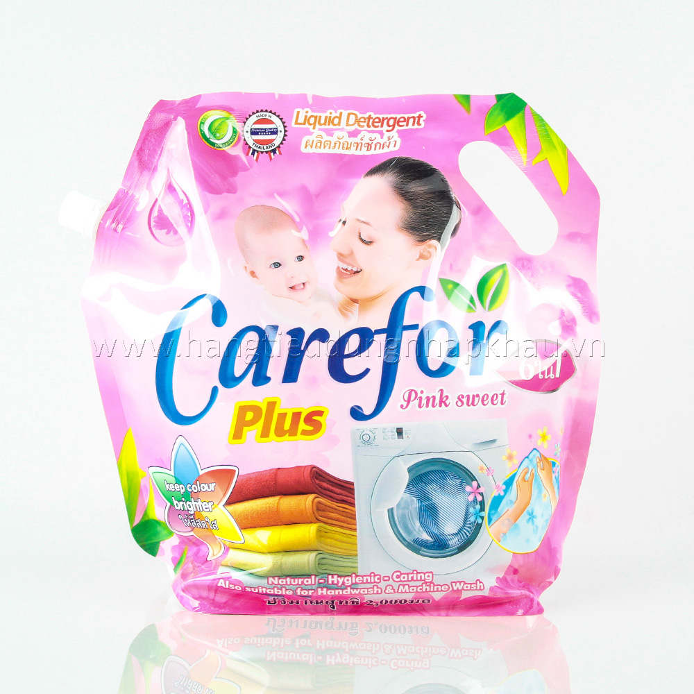 Nước Giặt Carefor Plus- Pink Sweet 1800ml
