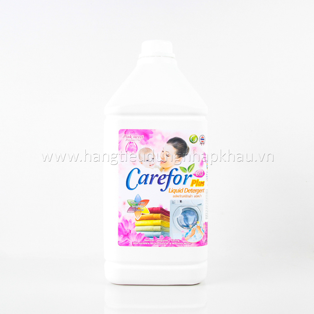 Nước Giặt Carefor Plus - Pink Sweet 3500ml