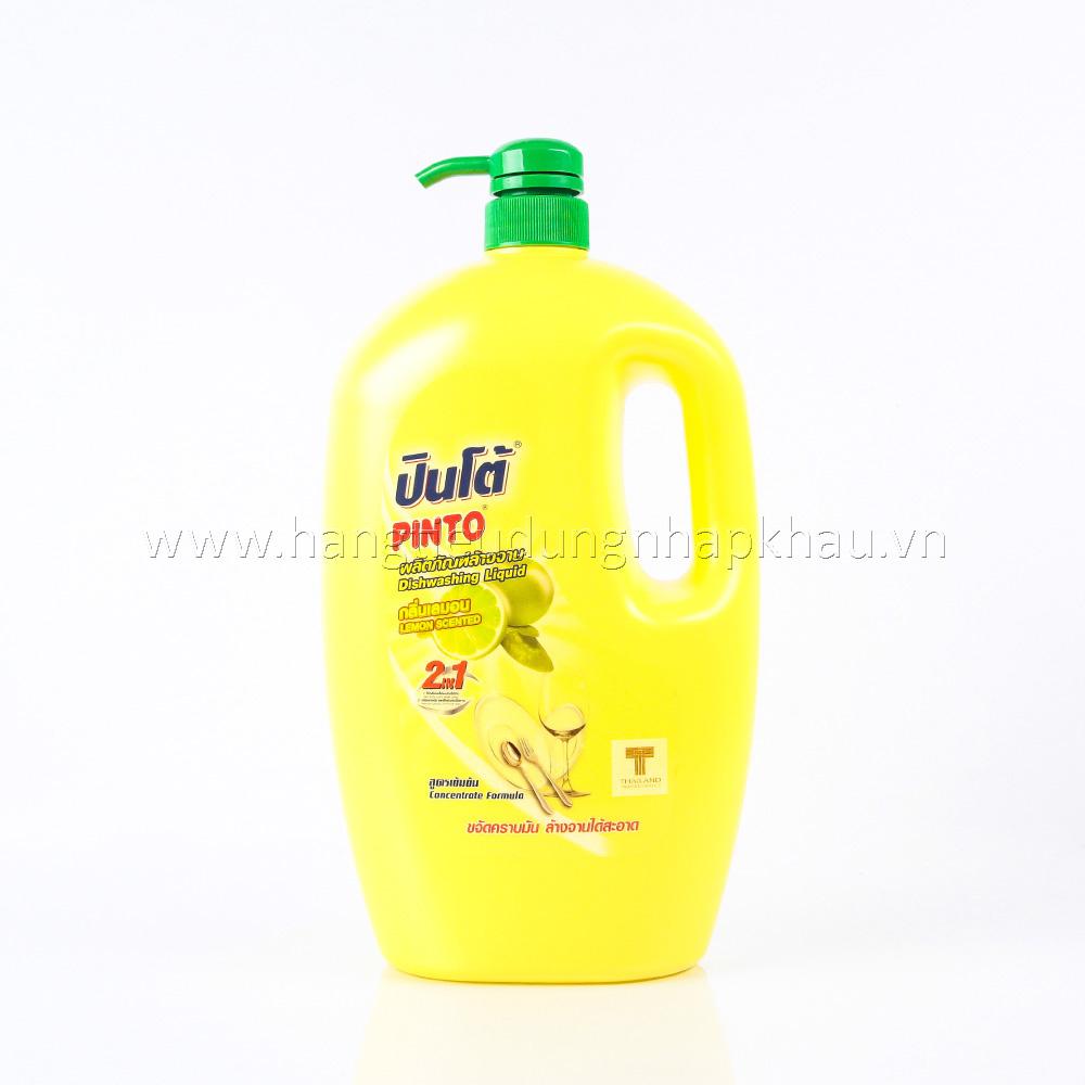 Nước Rửa Chén Pinto Hương Chanh 1800ml