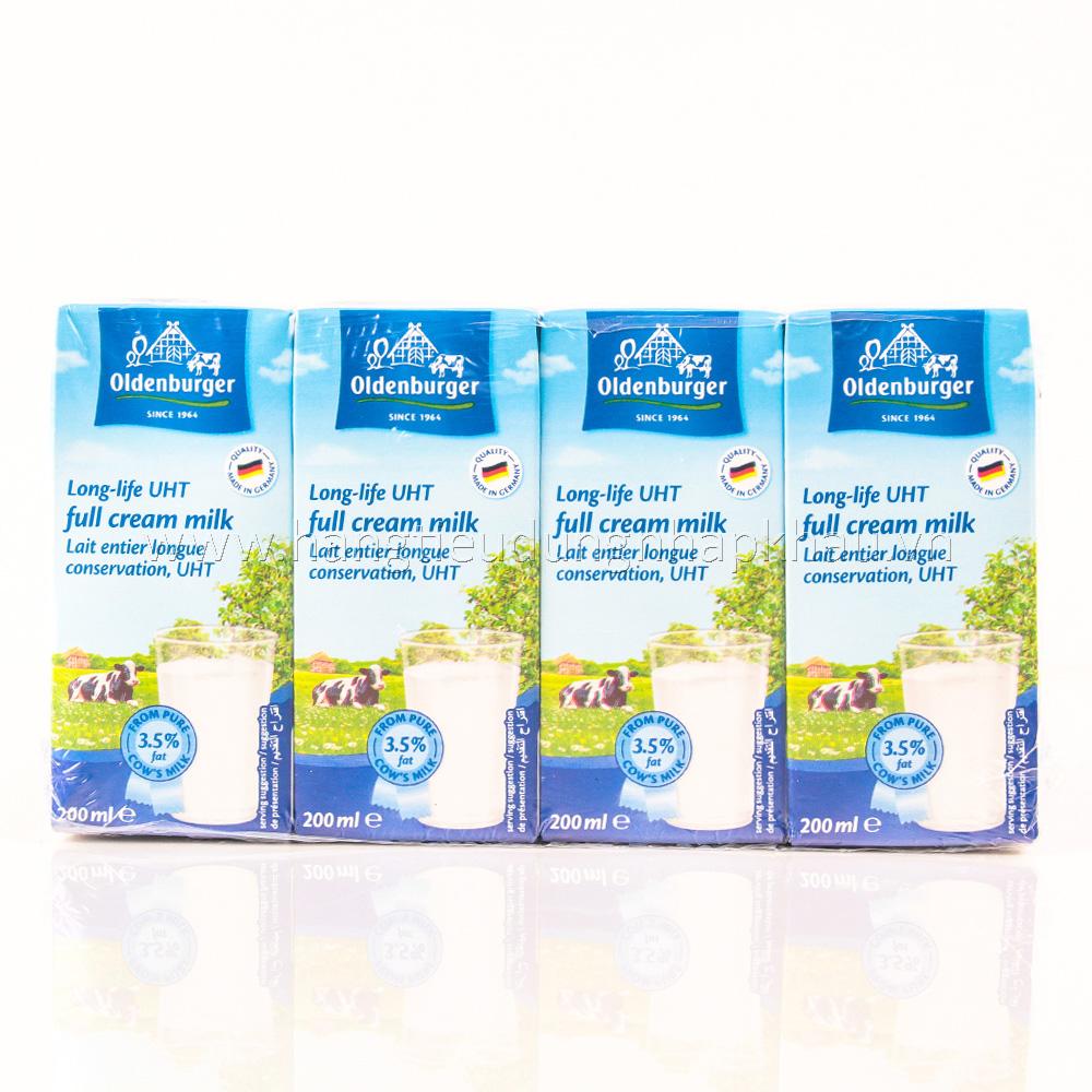 Sữa Tươi Tiệt Trùng Oldenburger (200ml x 4 Hộp)
