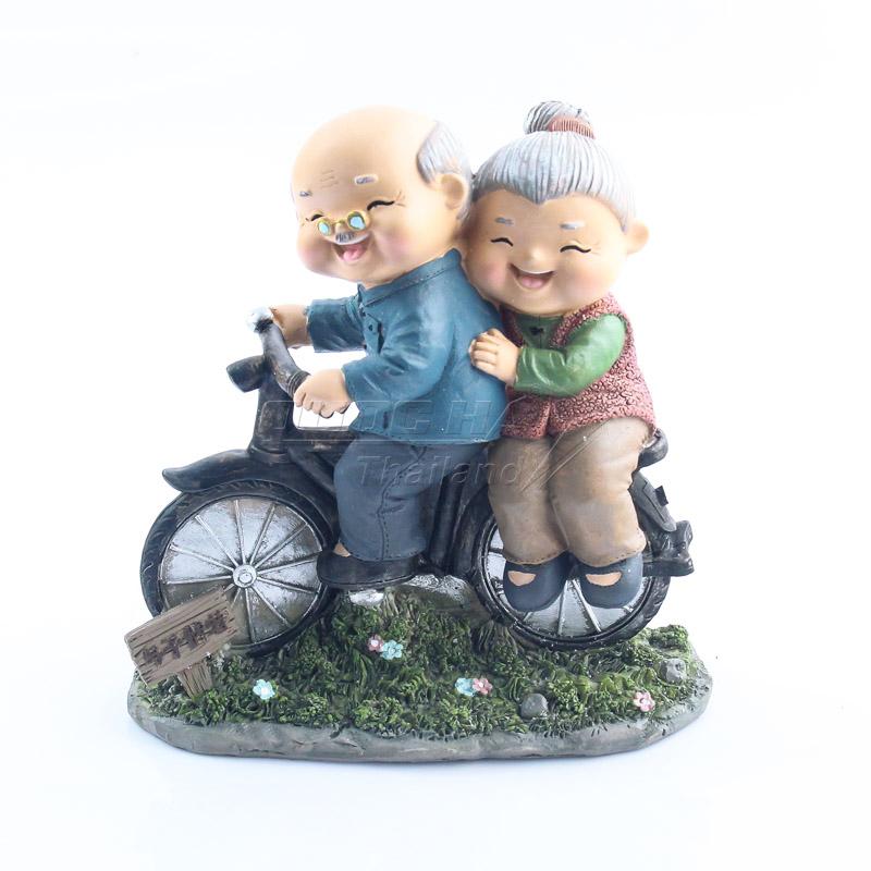 Tượng Gốm Trang Trí Ông Bà