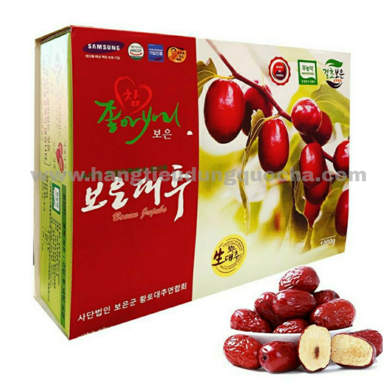 Táo đỏ Hàn Quốc 1kg