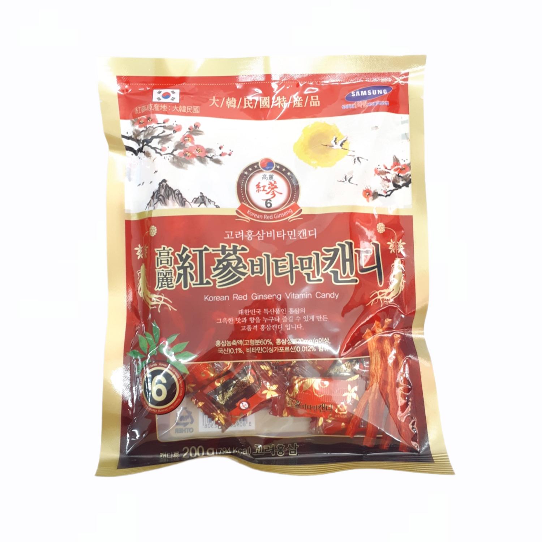 Kẹo Hồng Sâm - 200g