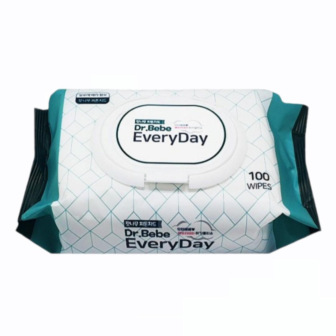 Khăn Giấy Ướt Dr.Bebe - Every Day 100 Miếng