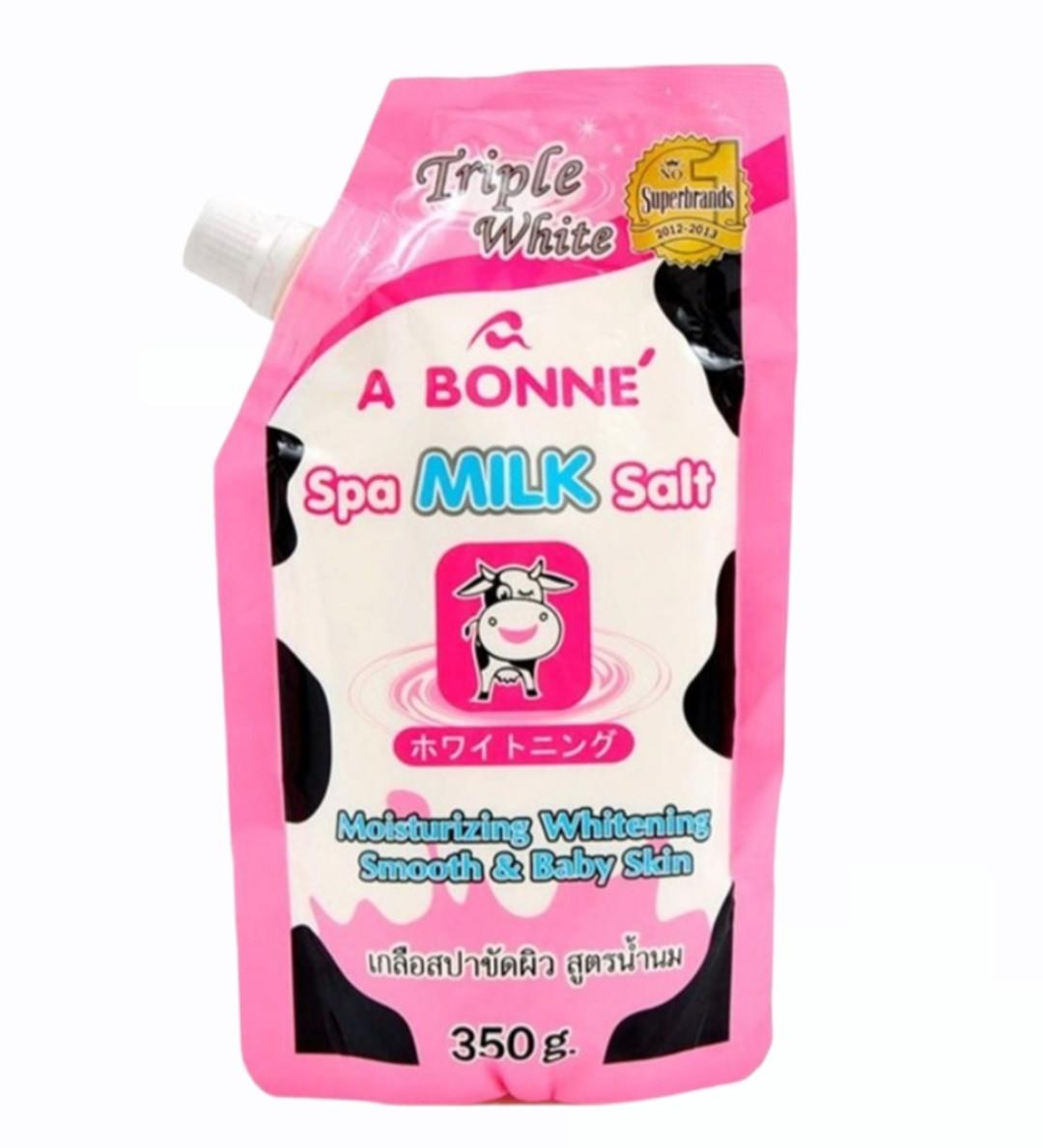 Muối Tắm A Bonne - Spa Milk Salt 350ml
