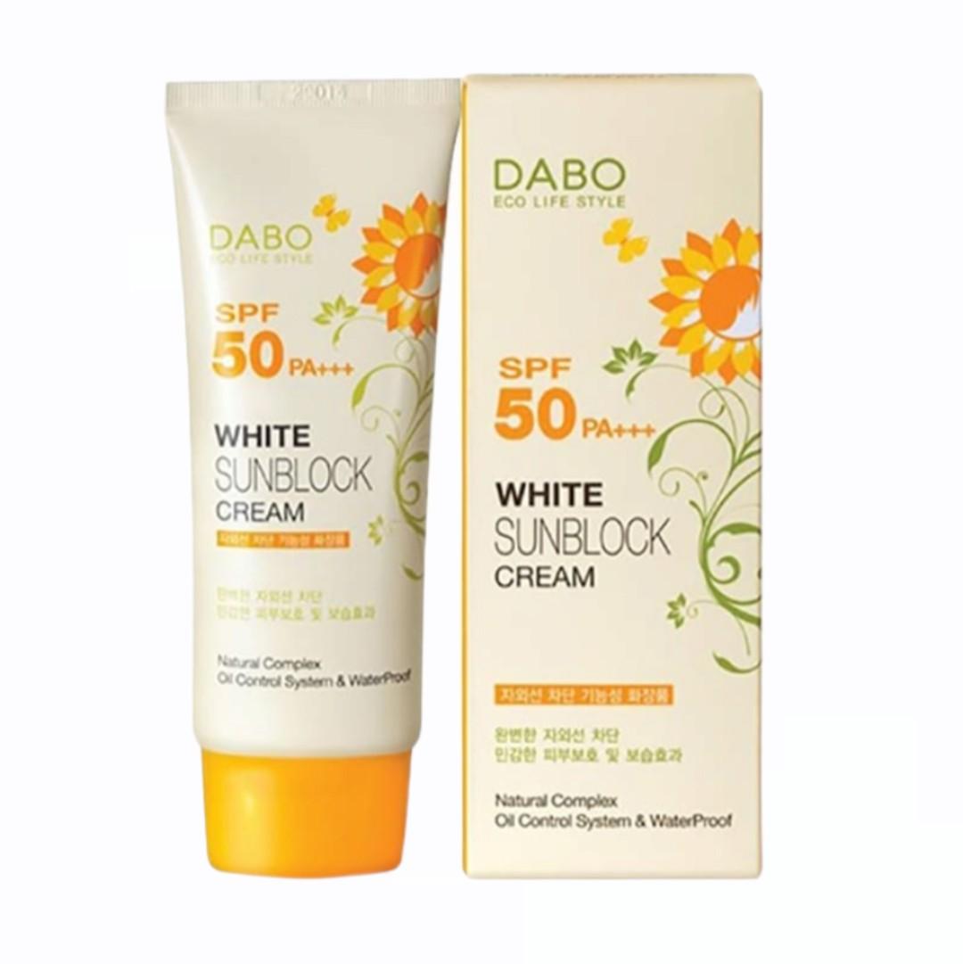 Kem Chống Nắng DaBo - White Sun Block Cream 70ml