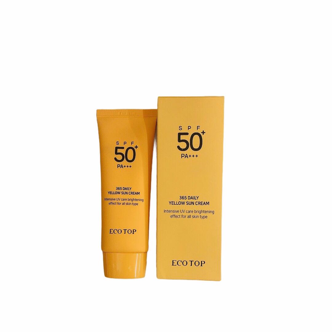 Kem Chống Nắng Eco Top - 365 Daily Yellow Sun Cream 70ml