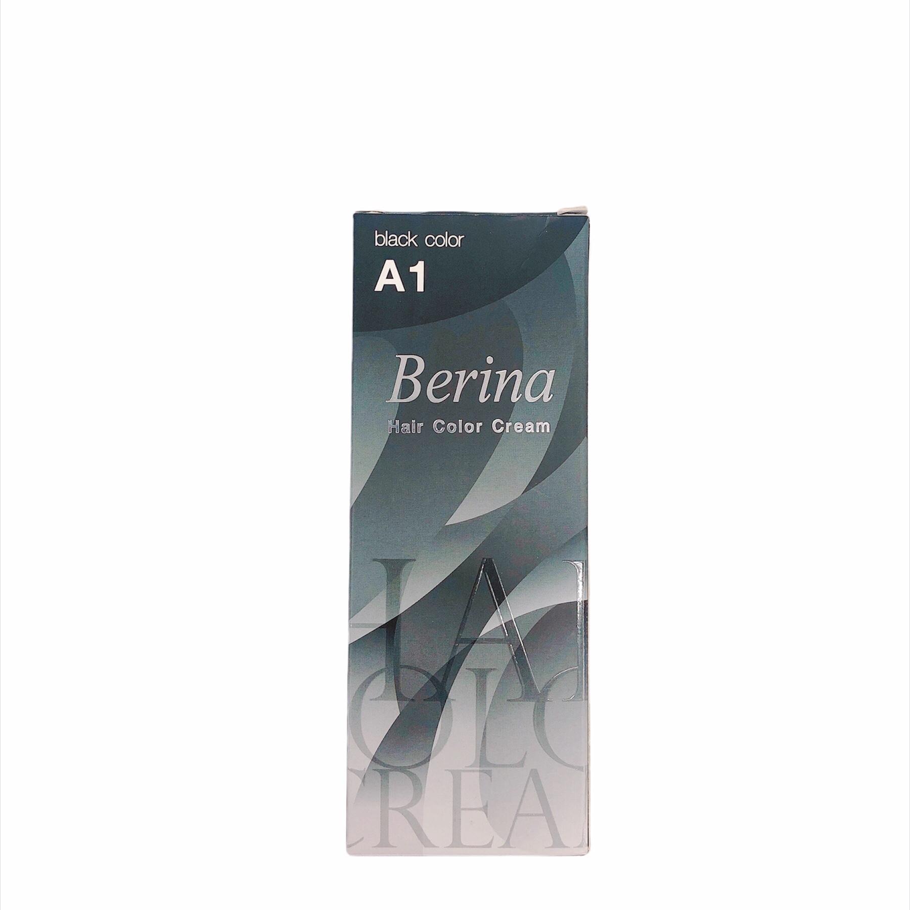 Thuốc Nhuộm Tóc - Berina Black A1