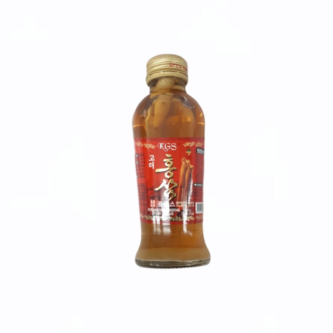 Nước Hồng Sâm - Hàn Quốc 10 chai x 120ml