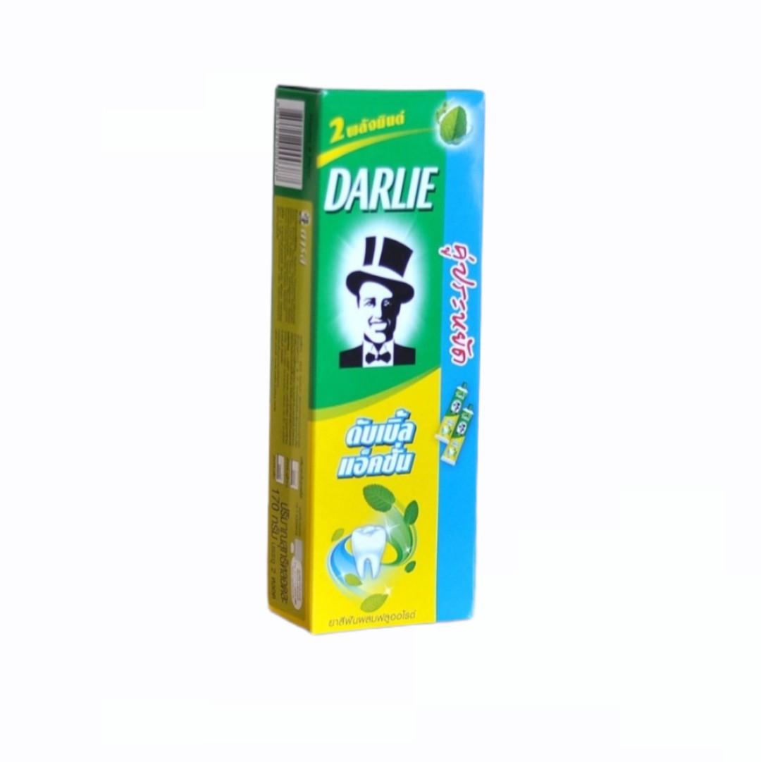 Kem Đánh Răng - Darlie Bạc Hà - 2 Tuýp*170g
