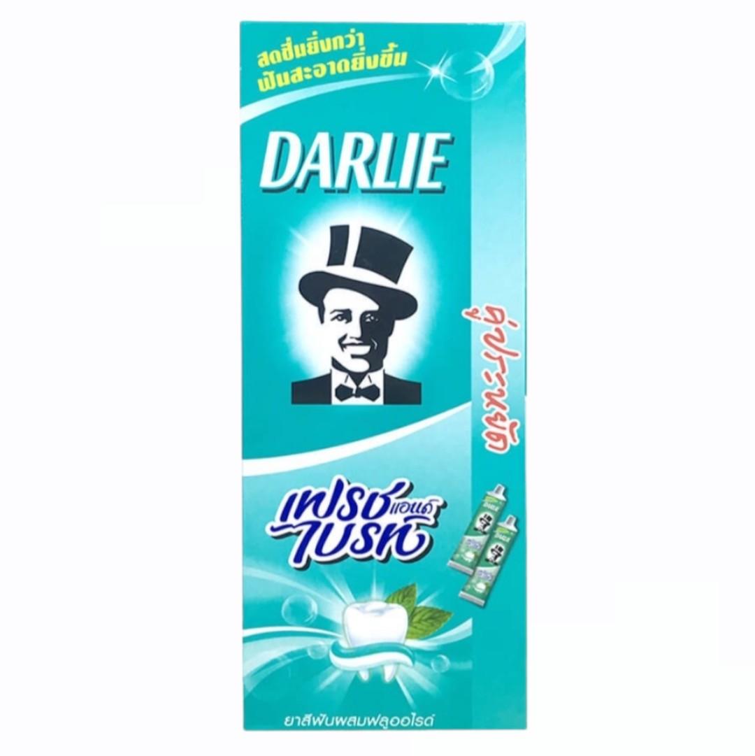 Kem Đánh Răng - Darlie Bạc Hà 2 Tuýp*140g