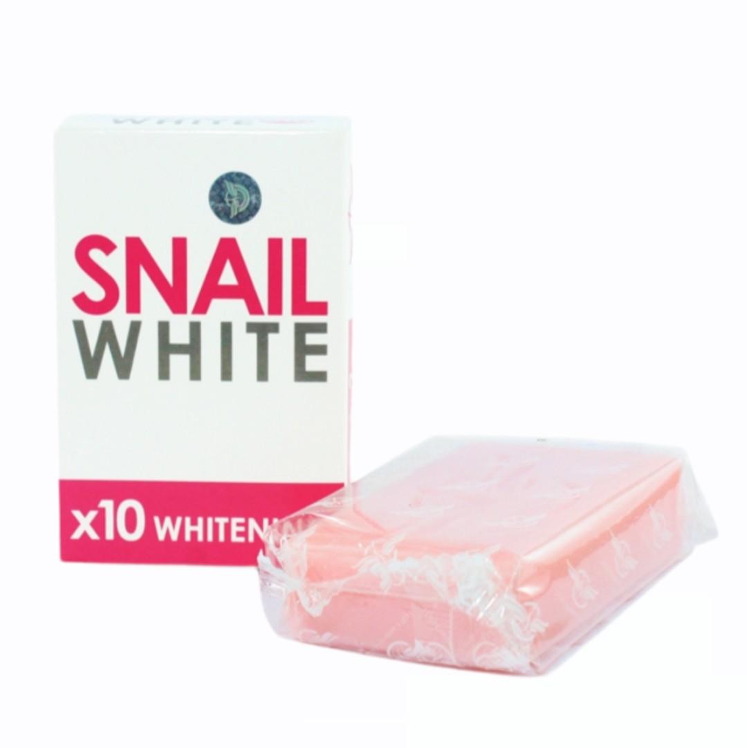 Xà Phòng - Snail White x10 Thái Lan