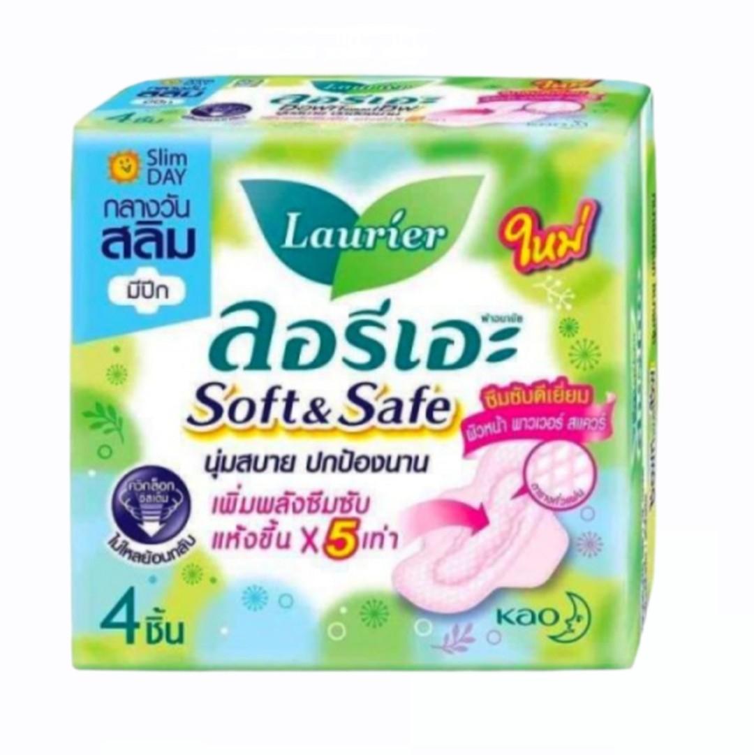 Băng Vệ Sinh - Laurier Soft & Safe 4 Miếng