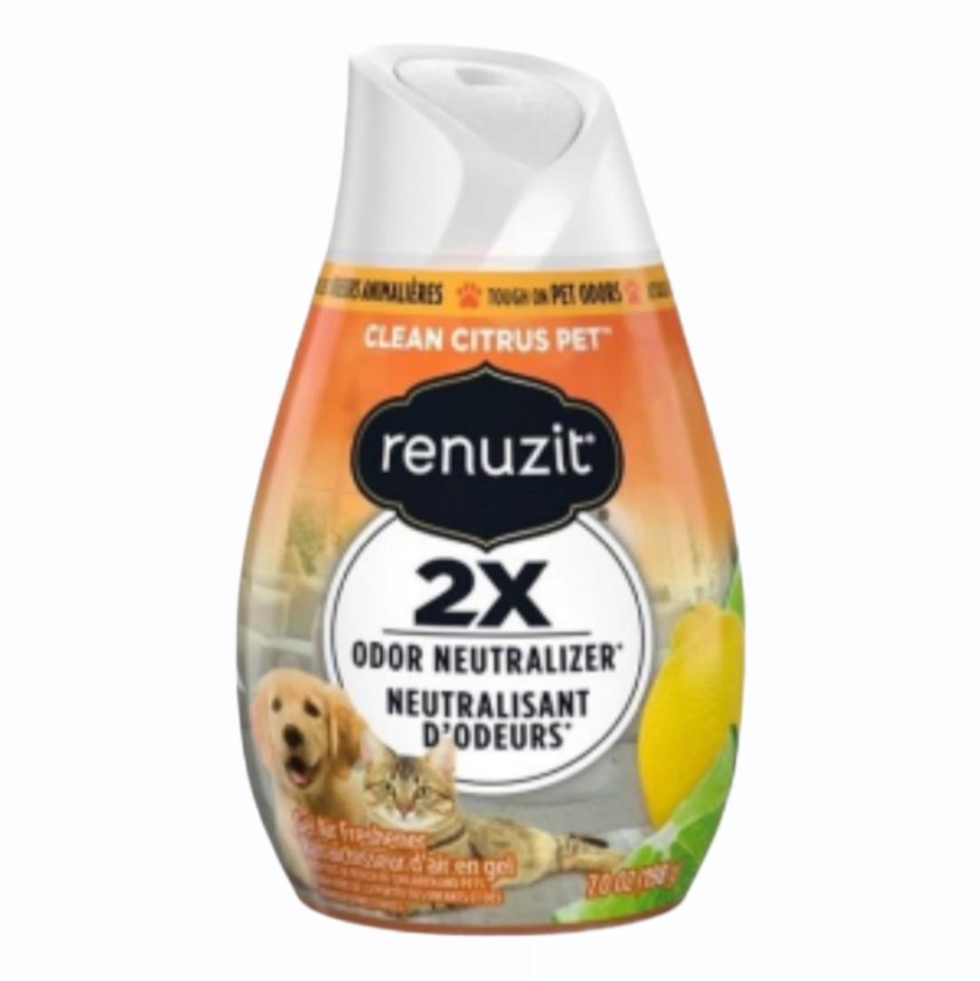 Sáp Thơm Renuzit - Clean Citrus Pet 198g