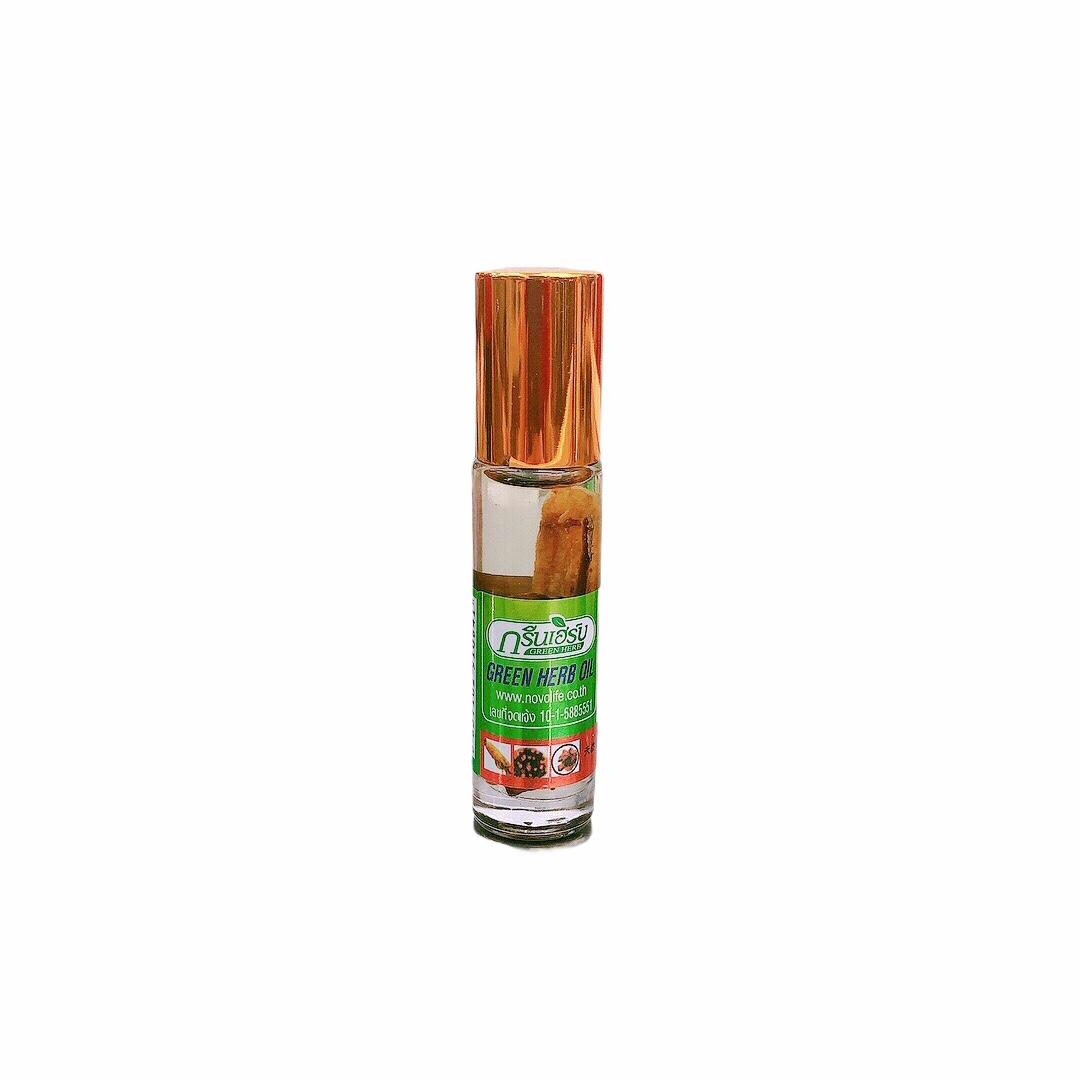 Dầu Lăn Green Herb - 3 Vị Thảo Dược 8ml