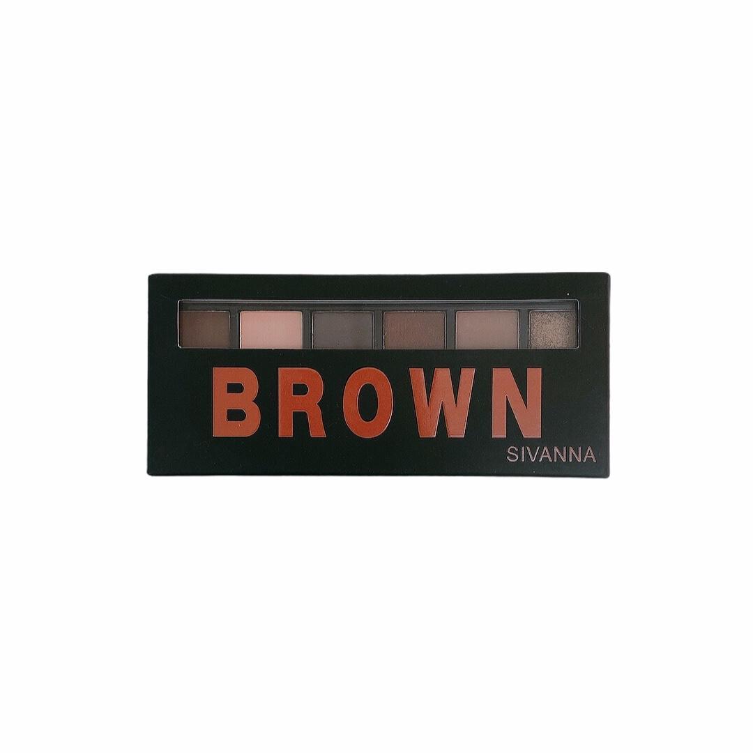 Phấn Màu Mắt Brown - Sivanna