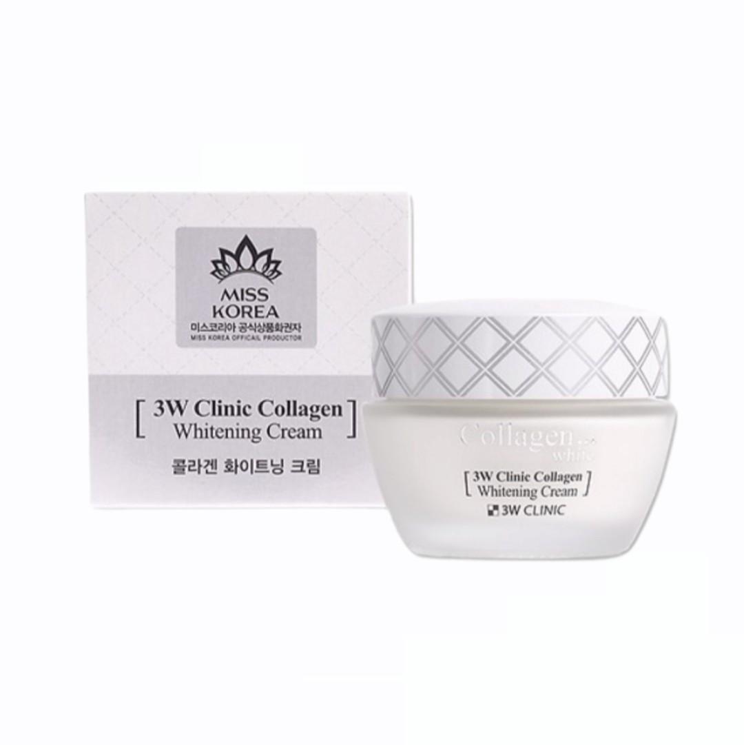 Kem Dưỡng Da Collagen - 3W Clinic 60ml